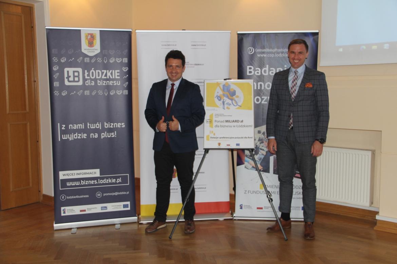 Wsparcie dla biznesu w Łódzkiem